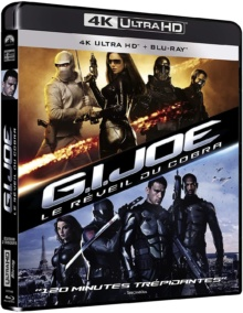 G.I. Joe : Le réveil du Cobra (2009) de Stephen Sommers – Packshot Blu-ray 4K Ultra HD