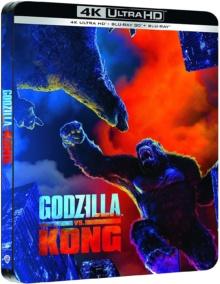 Godzilla vs Kong (2021) de Adam Wingard - Édition Limitée SteelBook – Packshot Blu-ray 4K Ultra HD