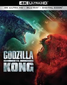Godzilla vs Kong (2021) de Adam Wingard – Packshot Blu-ray 4K Ultra HD
