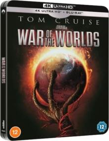 La Guerre des mondes (2005) de Steven Spielberg – Édition Limitée Exclusivité Fnac Steelbook - Packshot Blu-ray 4K Ultra HD