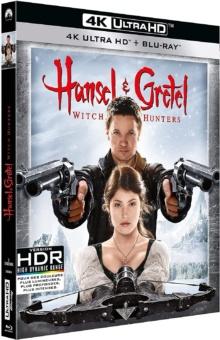 Hansel & Gretel : Witch Hunters (2013) de Tommy Wirkola – Packshot Blu-ray 4K Ultra HD
