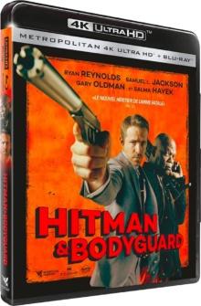 Hitman & Bodyguard (2017) de Patrick Hughes – Packshot Blu-ray 4K Ultra HD