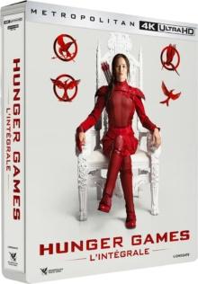 Hunger Games - L'intégrale – Packshot Blu-ray 4K Ultra HD