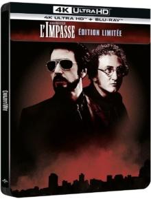 L'Impasse (1993) de Brian De Palma - SteelBook édition limitée – Packshot Blu-ray 4K Ultra HD