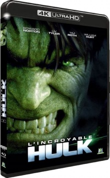 L'Incroyable Hulk (2008) de Louis Leterrier – Packshot Blu-ray 4K Ultra HD