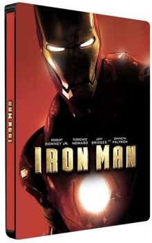 Iron Man (2008) de Jon Favreau – Packshot Blu-ray 4K Ultra HD