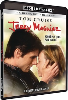 Jerry Maguire (1996) de Cameron Crowe - Packshot Blu-ray 4K Ultra HD