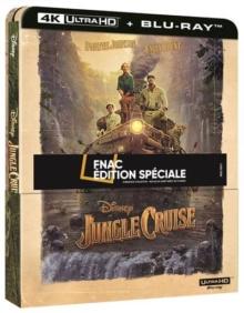 Jungle Cruise (2021) de Jaume Collet-Serra - Édition Spéciale Fnac Steelbook - Packshot Blu-ray 4K Ultra HD