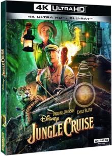 Jungle Cruise (2021) de Jaume Collet-Serra – Packshot Blu-ray 4K Ultra HD