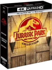 Jurassic Park : La Trilogie – Packshot Blu-ray 4K Ultra HD