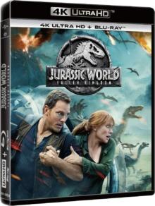 Jurassic World : Fallen Kingdom (2018) de J.A. Bayona – Packshot Blu-ray 4K Ultra HD