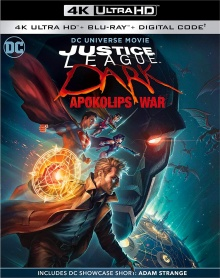 Justice League Dark : Apokolips War (2020) de Matt Peters et Christina Sotta – Packshot Blu-ray 4K Ultra HD
