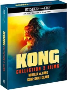 Kong : Skull Island + Godzilla vs Kong – Packshot Blu-ray 4K Ultra HD