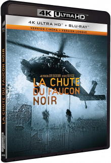 La Chute du faucon noir (2001) de Ridley Scott - Packshot Blu-ray 4K Ultra HD