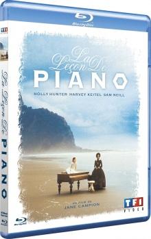 La Leçon de piano - Jaquette Blu-ray