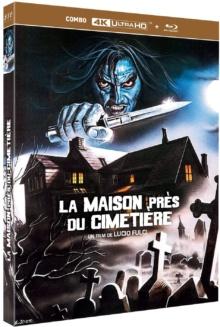 La Maison près du cimetière (1981) de Lucio Fulci – Packshot Blu-ray 4K Ultra HD