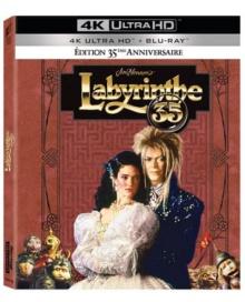 Labyrinthe (1986) de Jim Henson - Édition 35ème Anniversaire Collector Spéciale Fnac – Packshot Blu-ray 4K Ultra HD