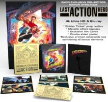 Last Action Hero (1993) de John McTiernan – Édition Collector – Packshot Blu-ray 4K Ultra HD