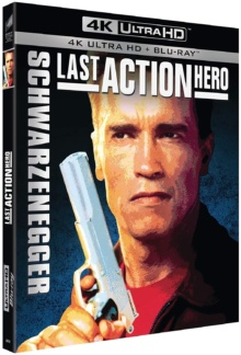 Last Action Hero (1993) de John McTiernan – Packshot Blu-ray 4K Ultra HD