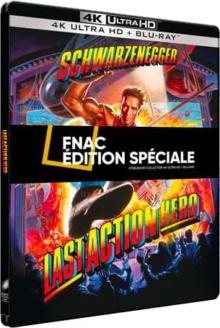 Last Action Hero (1993) de John McTiernan - Steelbook Exclusivité Fnac – Packshot Blu-ray 4K Ultra HD