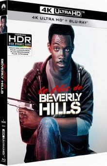 Le Flic de Beverly Hills (1984) de Martin Brest – Packshot Blu-ray 4K Ultra HD