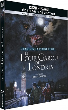 Le Loup-garou de Londres (1981) de John Landis – Packshot Blu-ray 4K Ultra HD