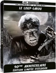 Le Loup-garou (1941) de George Waggner - Édition 90ème Anniversaire - Boîtier SteelBook – Packshot Blu-ray 4K Ultra HD