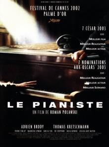 Le Pianiste - Affiche
