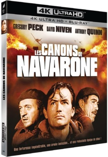 Les Canons de Navarone (1961) de J. Lee Thompson – Packshot Blu-ray 4K Ultra HD