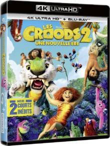 Les Croods 2 : Une nouvelle ère (2020) de Joel Crawford - Packshot Blu-ray 4K Ultra HD