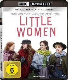 Les Filles du Docteur March (2019) de Greta Gerwig – Packshot Blu-ray 4K Ultra HD