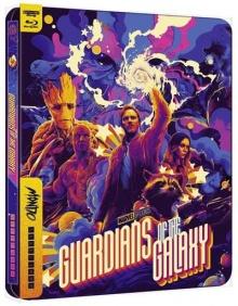 Les Gardiens de la Galaxie - Édition Steelbook Mondo – Packshot Blu-ray 4K Ultra HD
