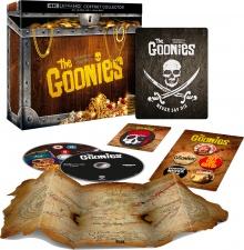 Les Goonies (1985) de Richard Donner – Édition Collector Goodies – Packshot Blu-ray 4K Ultra HD