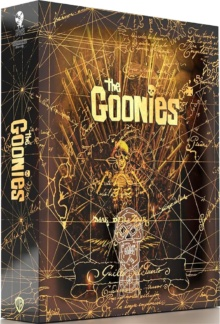 Les Goonies (1985) de Richard Donner – Édition Titans of Cult – SteelBook – Packshot Blu-ray 4K Ultra HD