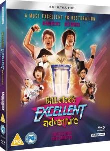 L'Excellente aventure de Bill & Ted (1989) de Stephen Herek - Packshot Blu-ray 4K Ultra HD
