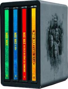 Mad Max Anthologie - Édition boîtier SteelBook - Packshot Blu-ray 4K Ultra HD