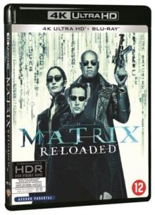 Matrix Reloaded (2003) de The Wachowski Brothers – Packshot Blu-ray 4K Ultra HD