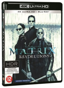 Matrix Revolutions (2003) de The Wachowski Brothers – Packshot Blu-ray 4K Ultra HD