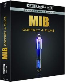 Men in Black - Coffret 4 films – Packshot Blu-ray 4K Ultra HD