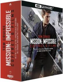 Mission : Impossible - L'intégrale 6 Films – Packshot Blu-ray 4K Ultra HD