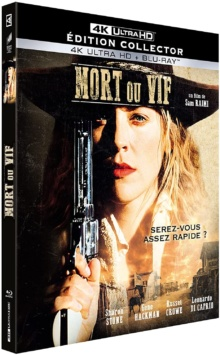 Mort ou vif (1995) de Sam Raimi - Édition Collector – Packshot Blu-ray 4K Ultra HD