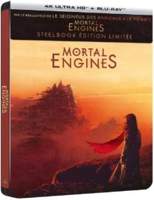 Mortal Engines (2018) de Christian Rivers - Édition Steelbook - Packshot Blu-ray 4K Ultra HD