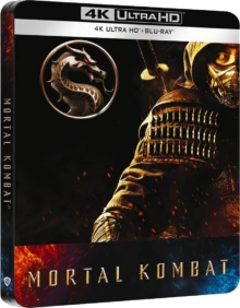 Mortal Kombat (2021) de Simon McQuoid - Édition Steelbook – Packshot Blu-ray 4K Ultra HD