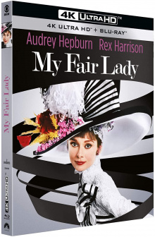 My Fair Lady (1964) de George Cukor – Packshot Blu-ray 4K Ultra HD
