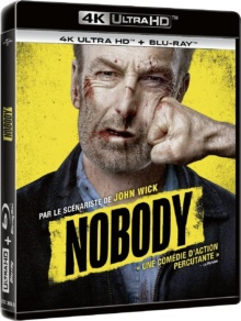 Nobody (2021) de Ilya Naishuller – Packshot Blu-ray 4K Ultra HD