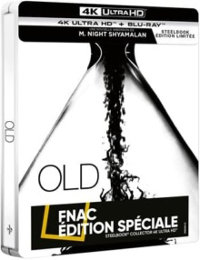 Old (2021) de M. Night Shyamalan – Édition Spéciale Fnac Steelbook – Packshot Blu-ray 4K Ultra HD