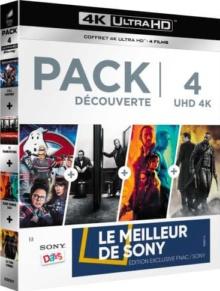 Pack découverte : S.O.S. Fantômes + Trainspotting T2 + Blade Runner 2049 + La Tour Sombre - Exclusivité Fnac – Packshot Blu-ray 4K Ultra HD