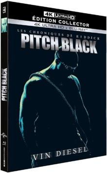 Pitch Black (2000) de David Twohy - Édition Collector – Packshot Blu-ray 4K Ultra HD