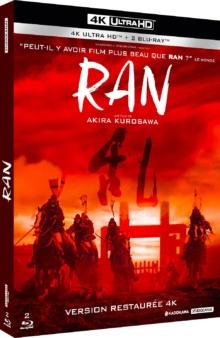 Ran (1985) de Akira Kurosawa – Packshot Blu-ray 4K Ultra HD