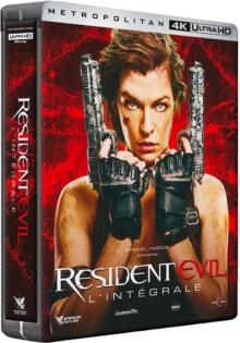 Resident Evil : L'Intégrale – Packshot Blu-ray 4K Ultra HD